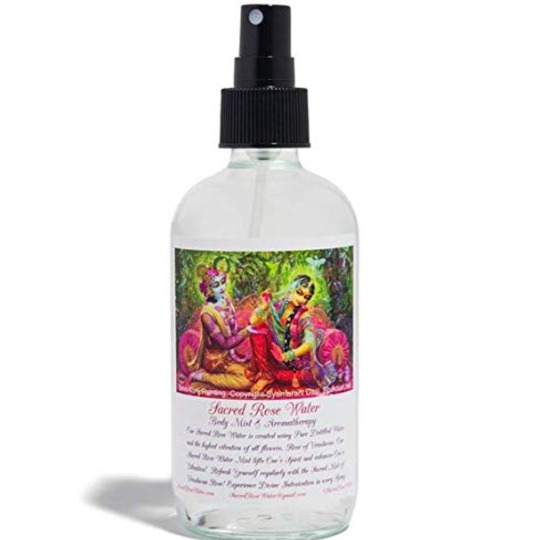 Sacred Rose Water-Sacred Rose Water Spray