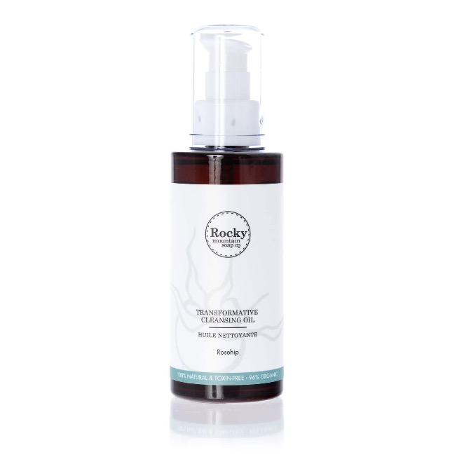 Rocky Mountain Soap Co.-transformative Cleansing Oil-Rosehip