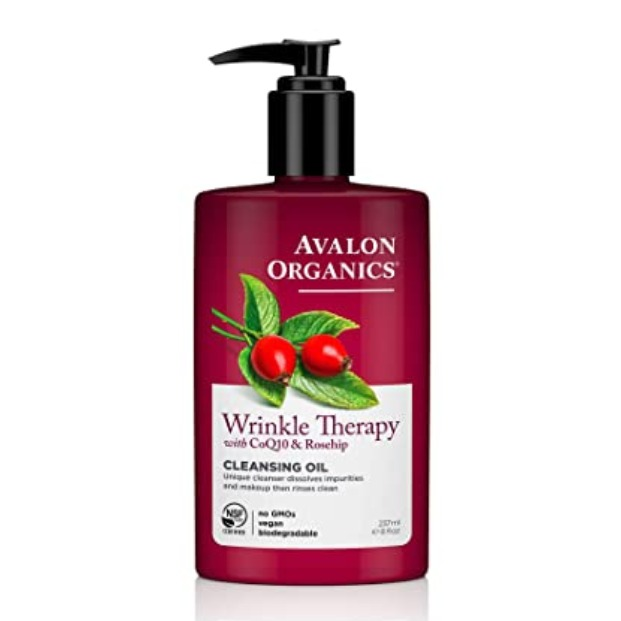 Avalon Organics-Wrinkle Therapy Cleansing Oil