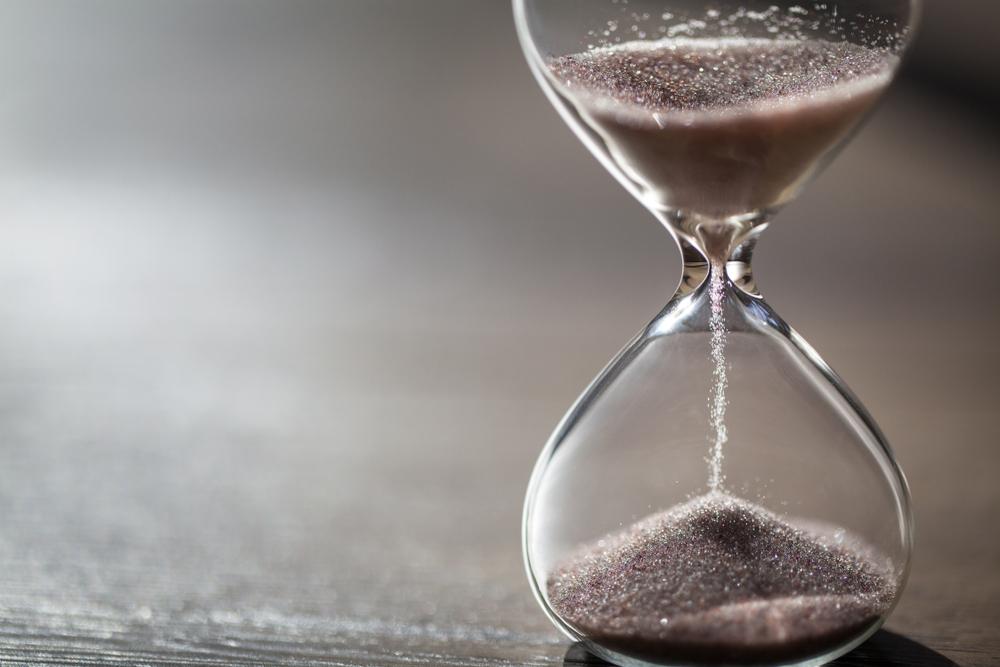 Timeglas til det perfekte minut