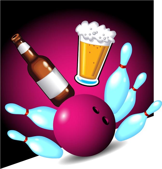 Øl bowling