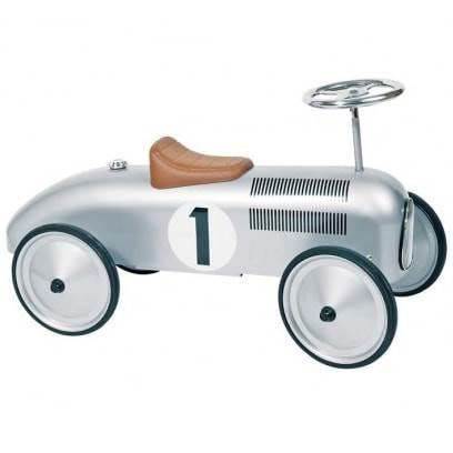 Goki gåbil i sølvgrå metal