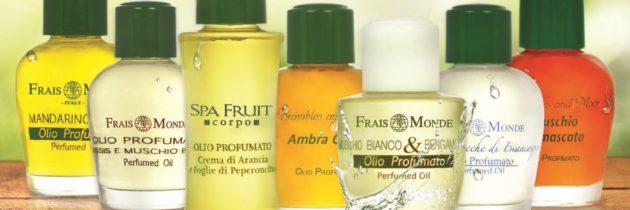 Niepowtarzalne esencje zapachowe. Olejki Frais Monde