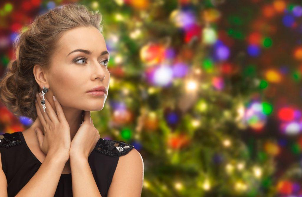 Elegancki makijaż i fryzura na Święta: galeria