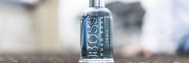 Korzenne przyprawy na lato. Hugo Boss Bottled Tonic