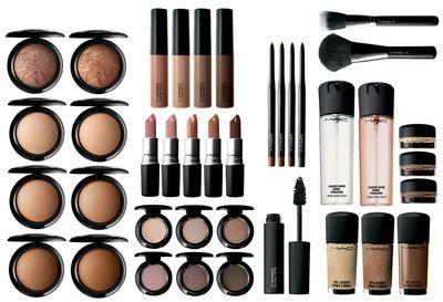Kosmetyki MAC oferują szeroką paletę kolorystyczną.