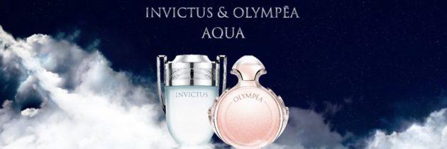 Nowość! Paco Rabanne Invictus Aqua & Olympea Aqua