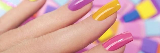 Kilka pomysłów na letni manicure