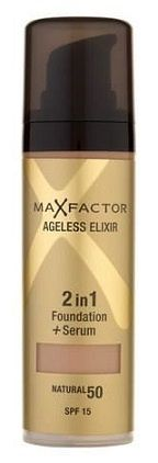 Max Factor Colour Adapt Make-Up Max Factor Ageless Elixir 2v1 Foundation + Serum