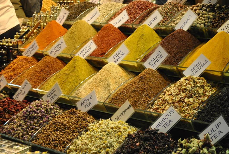 Orientalne przyprawy perfumy