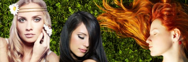 Makijaż według koloru włosów