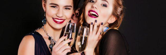 Modny makijaż na sylwestra: galeria
