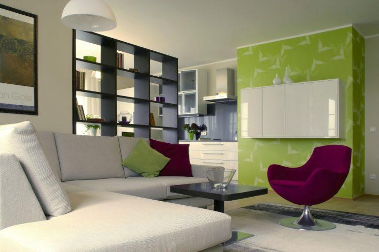 vzorový byt - obývací pokoj