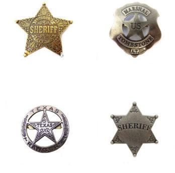 Westernové Odznaky