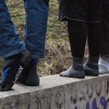 Kvalitní ponožky a péče o nohy