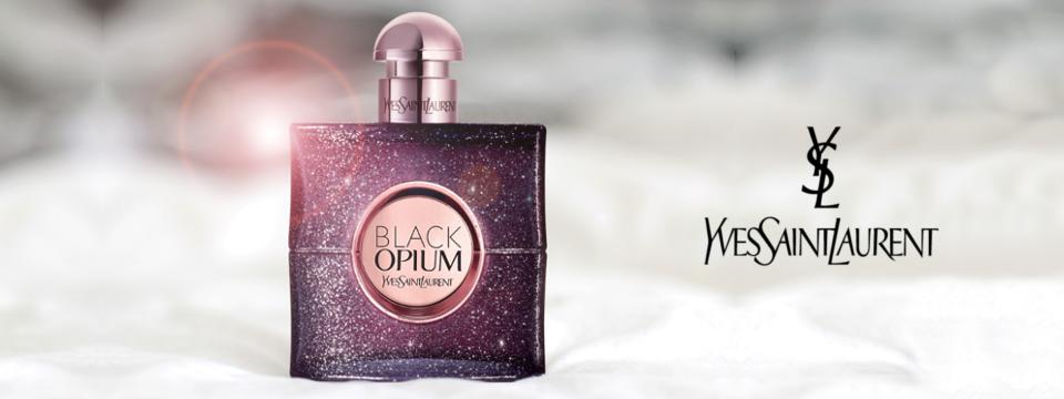 Obklopte se tóny parfému Black Opium Nuit Blanche