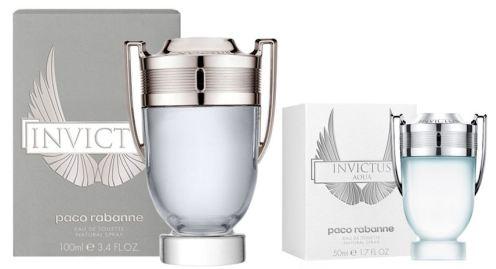 Rozdíl v balení parfémů Invictus