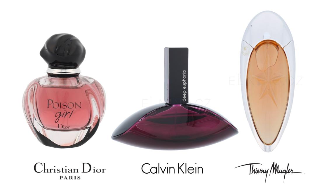 Nejlepší dámské parfémy roku 2016