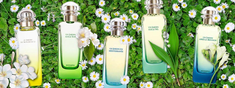Znáte sérii vůní Un Jardin od Hermès?