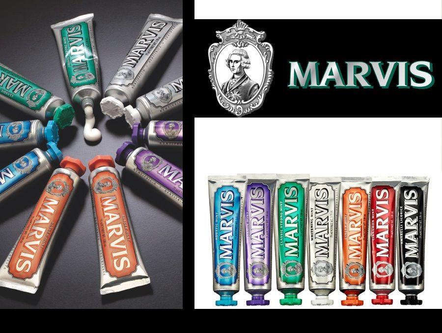 Marvis zubní pasty