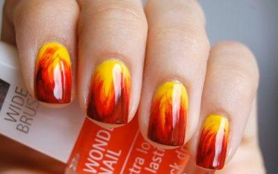 Jak na to: Nehty v plamenech