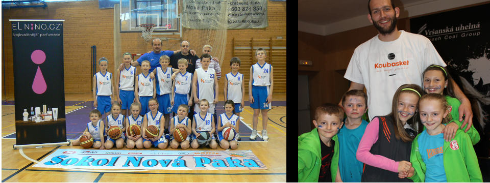 Elnino.cz slaví úspěch novopackých basketbalistů