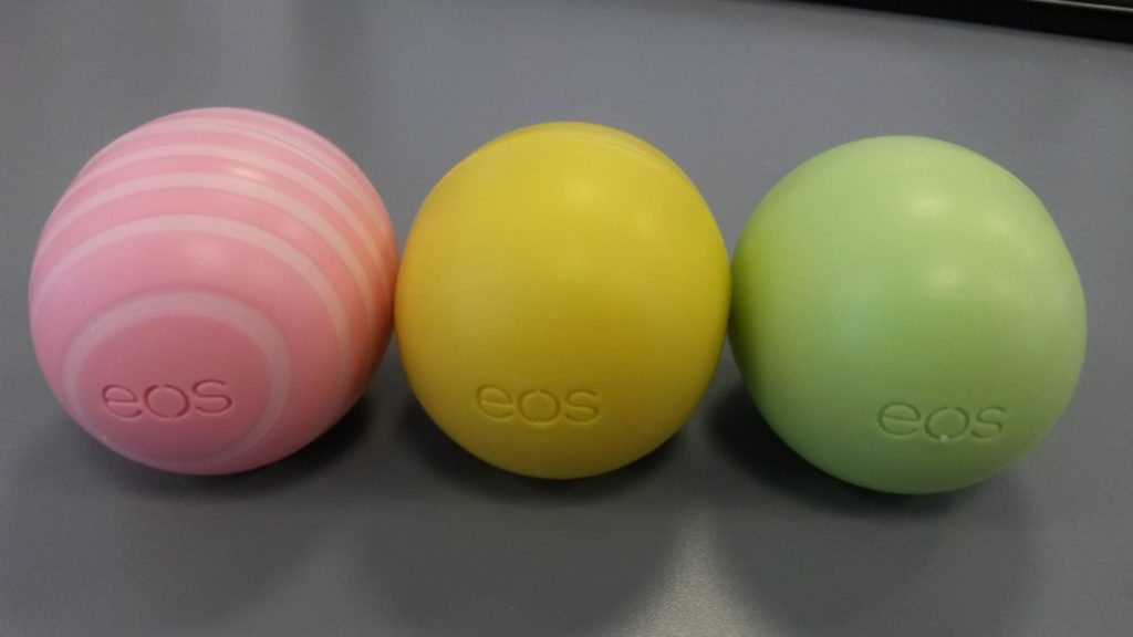 Balzámy EOS
