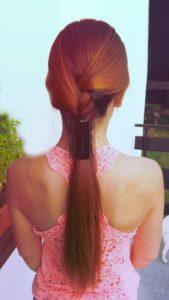 Linziclip na vlasech