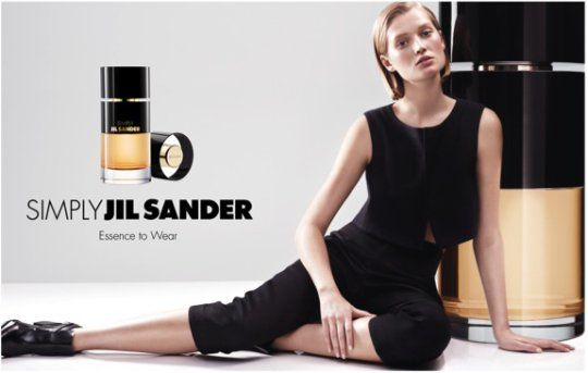 Reklama na vůni Jil Sander Simply