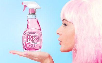 Šokující a roztomilá Moschino Fresh Couture Pink