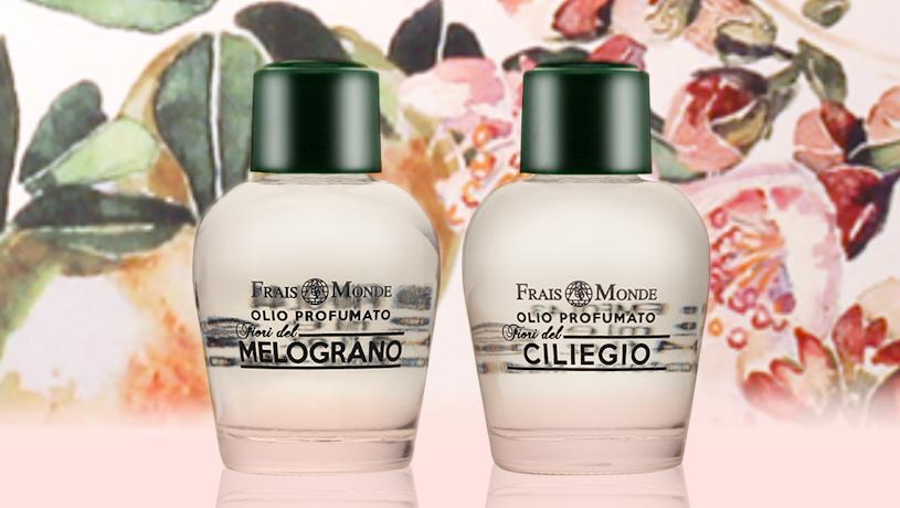 Parfémovaný olej Pomegranate Flowers a Cherry Blossoms