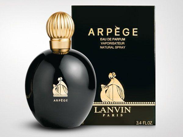 Lanvin Arpège v kultovním černozlatém balení (zdroj: bit.ly/1S6WscP, citováno dne 27.7. 2015)