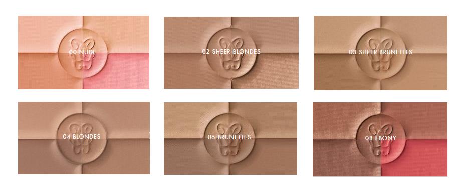 Jednotlivé odstíny (zdroj: oficiální stránky značky Guerlain)