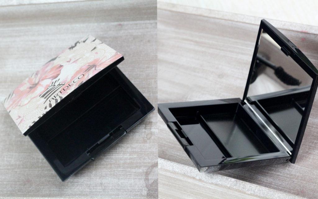 Trio Beauty box s květinovým vzorem