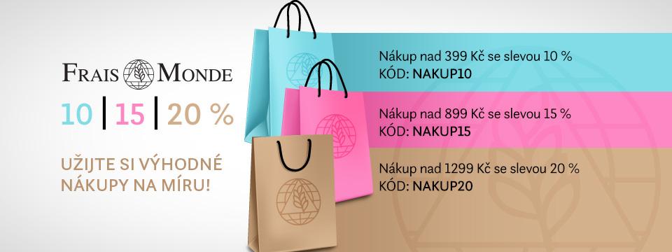 Nákupy kosmetiky Frais Monde si užijete