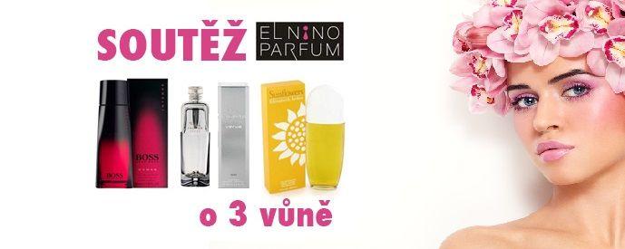 Soutěž o 3 parfémy