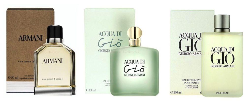 Giorgio Armani parfémy