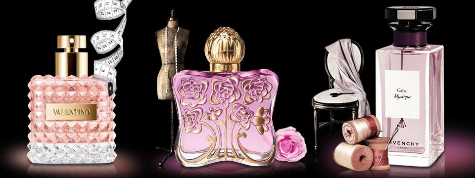 Parfémové novinky z dílen módních návrhářů