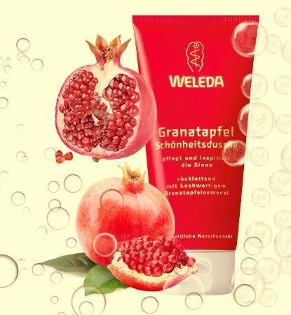 Weleda - sprchový gel granátové jablko