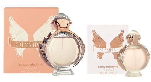Rozdíl v balení parfémů Olympea