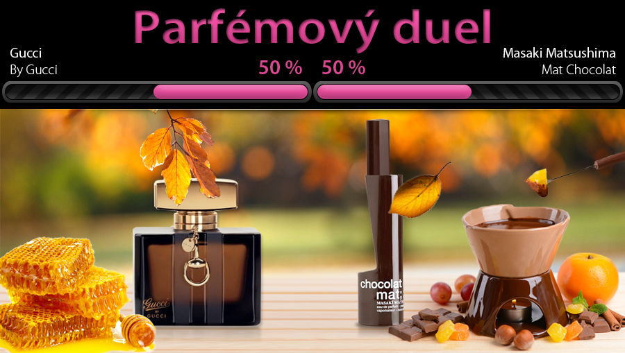Parfém jako lahodný dezert