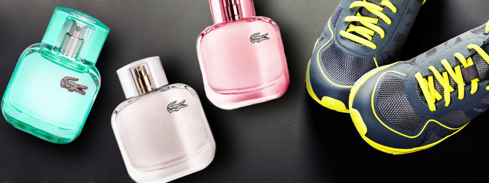 Rozšířená kolekce sportovních parfémů Lacoste