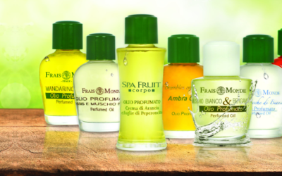 Ada testovala parfémované oleje Frais Monde