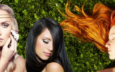 Líčení podle barvy vlasů