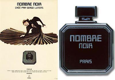 První vůně Nombre Noir  z roku 1982