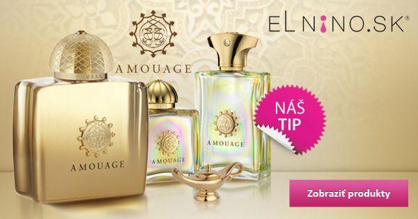 Niche značka Amouage a jej vybrané kúsky na Elnino.sk