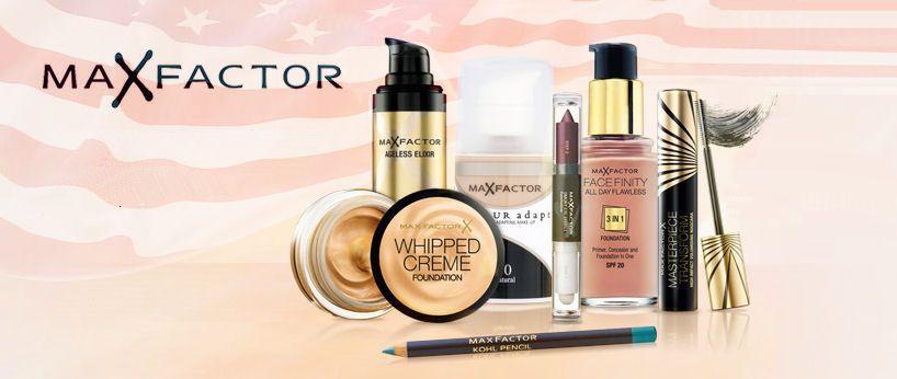 lacná kozmetika z USA Max Factor