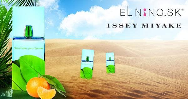 Luxusné parfumy Issey Miyake - na obrázku pánska vôňa L´Eau D´Issey Summer 2012 v ponuke Elnino.sk