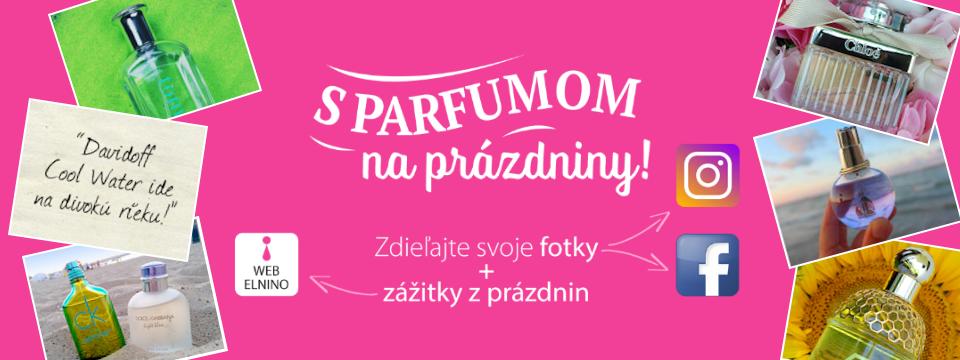 S parfumom na prázdniny - letná súťaž na Elnino.sk