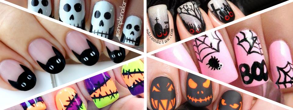 Strašidelné Nail Art nápady na Halloween (DIY)